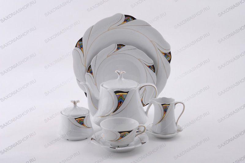 """Чайный набор на 6 персон """"Этуаль"""", 18 пр."""