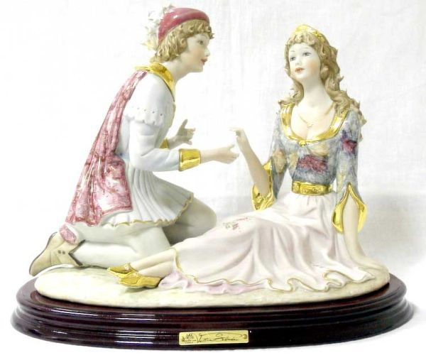 Статуэтка Ромео и Джульетта, h 26 см