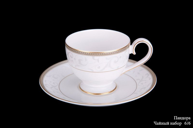 "Чайный набор на 6 персон ""Пандора"", 12 пр."