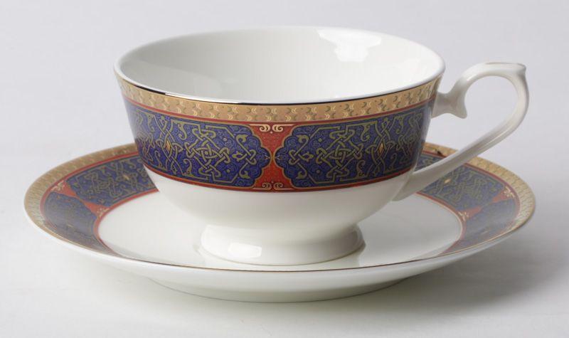 "Чайный набор на 6 персон ""Астерия Голд"", 12 пр."