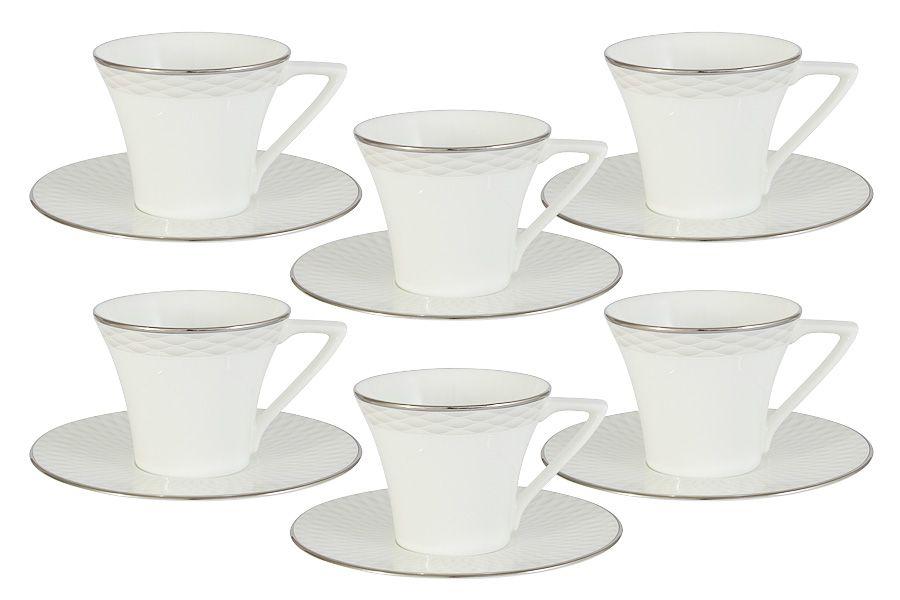 """Кофейный набор """"Бриз"""" 6 чашек 0.11л + 6 блюдец"""