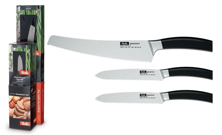 "Набор ножей для завтрака ""Passion"", 3 пр."
