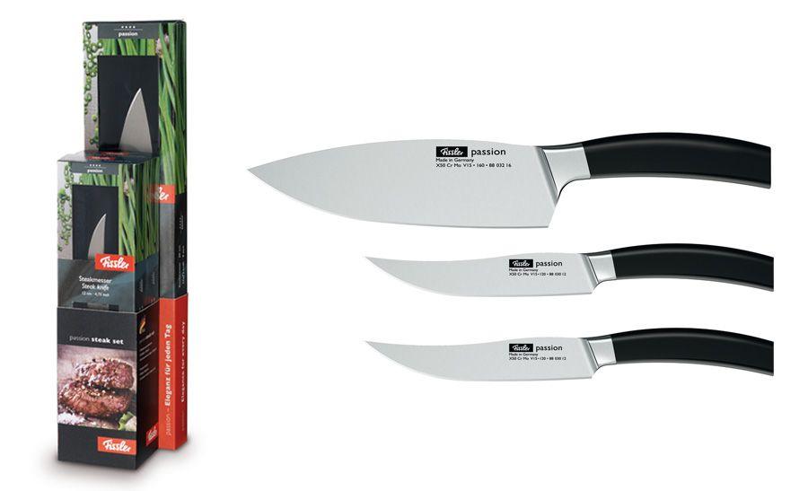 """Набор ножей для стейка """"Passion"""", 3 пр."""