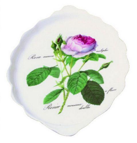 """Поднос для сладкого """"Роза Редаут"""", 26х15 см"""