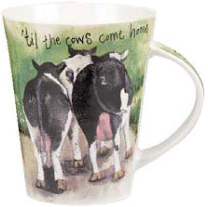 "Кружка ""Коровы-путешественницы"", форма Flirt, 370 мл"