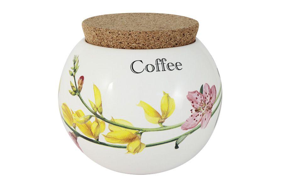 """Банка для сыпучих продуктов (кофе) """"Фреско"""", 0.65 л"""