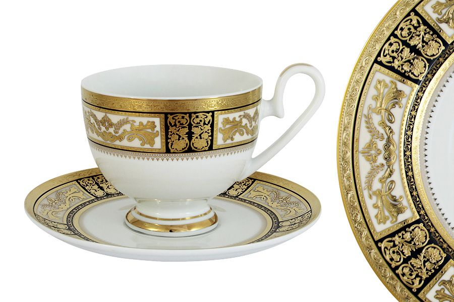 Чашка с блюдцем Елизавета