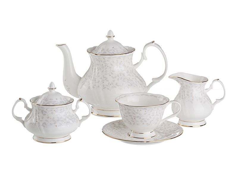 "Чайный сервиз на 6 персон ""Вивьен"", 15 пр., 1000/300/250/200 мл"