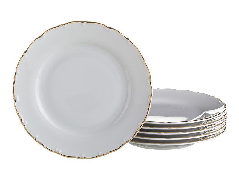 """Набор тарелок """"Офелия 662"""", 21 см, 6 шт."""