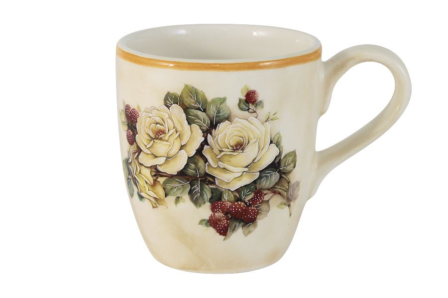 """Кружка """"Роза и малина"""", 0.35 л"""