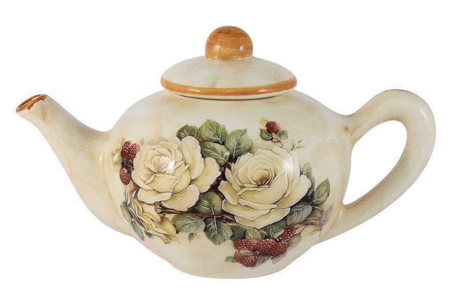 """Чайник """"Роза и малина"""", 0.65 л"""