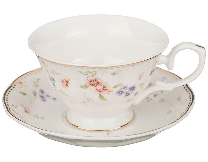 """Чайный набор на 1 персону """"Пасадена"""", 2 пр., 180 мл"""