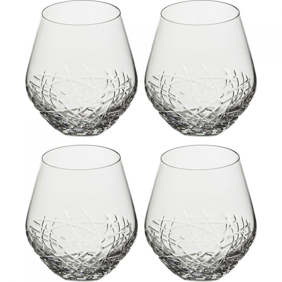 "Набор стаканов ""Граффити"" 520 мл, h=12 см, 4 шт."
