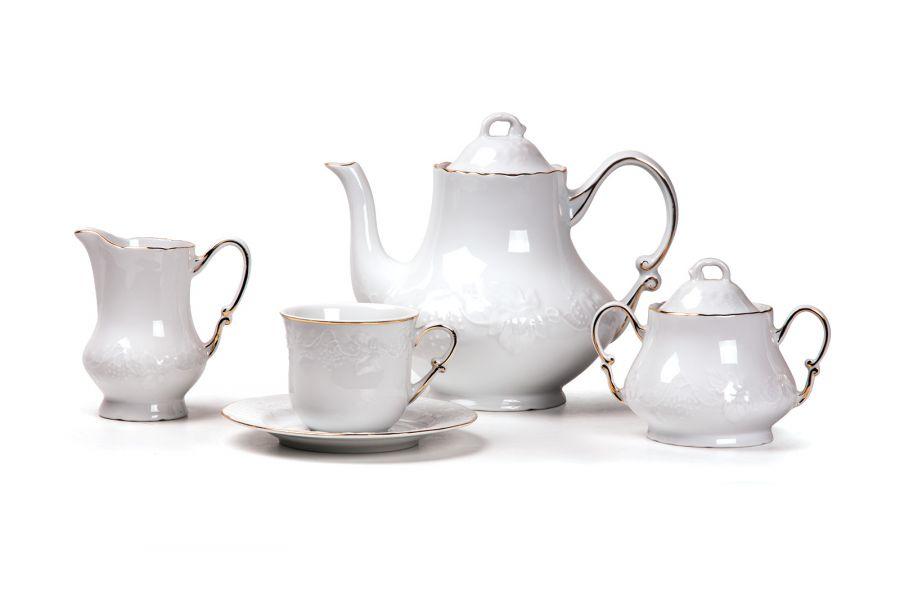 Чайный сервиз на 6 персон Filet Or (Vendange), 15 пр.